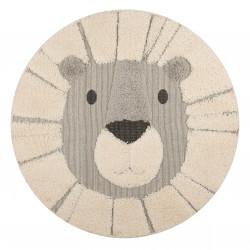 Dětský kusový koberec Vini 103918 Cream Grey Black