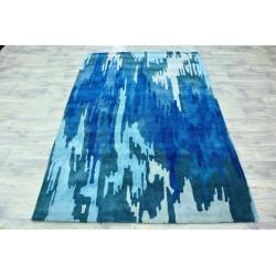 Ručně vyrobený kusový koberec Indie 9