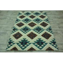 Ručně vyrobený kusový koberec Indie 33