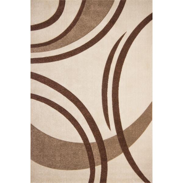 Lalee koberce Kusový koberec Havanna Carving HAV 409 ivory, koberců 160x230 cm Béžová - Vrácení do 1 roku ZDARMA