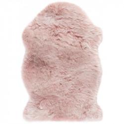Kusový koberec Samba 495 Powderpink (tvar kožešiny)