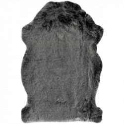 Kusový koberec Samba 495 Anthracite (tvar kožešiny)