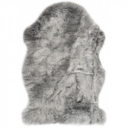 Kusový koberec Samba 495 Silver (tvar kožešiny)