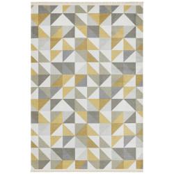 Kusový koberec Kunar 103952 Yellow/Grey