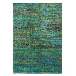 Ručně tkaný kusový koberec SAREE DE LUX 820 EMERALD