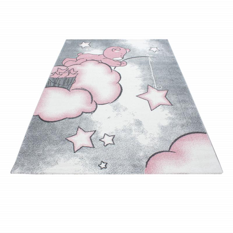 Dětský kusový koberec Kids 580 pink