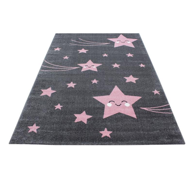 Dětský kusový koberec Kids 610 pink