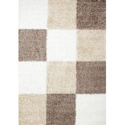 Kusový koberec Life Shaggy 1501 mocca
