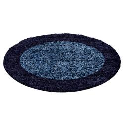 Kusový koberec Life Shaggy 1503 navy kruh