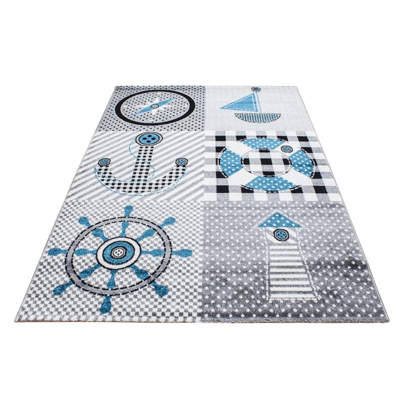 Dětský kusový koberec Kids 510 grey