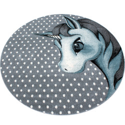 Kusový koberec Kids 590 blue kruh
