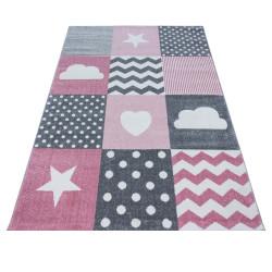 Kusový koberec Kids 620 pink