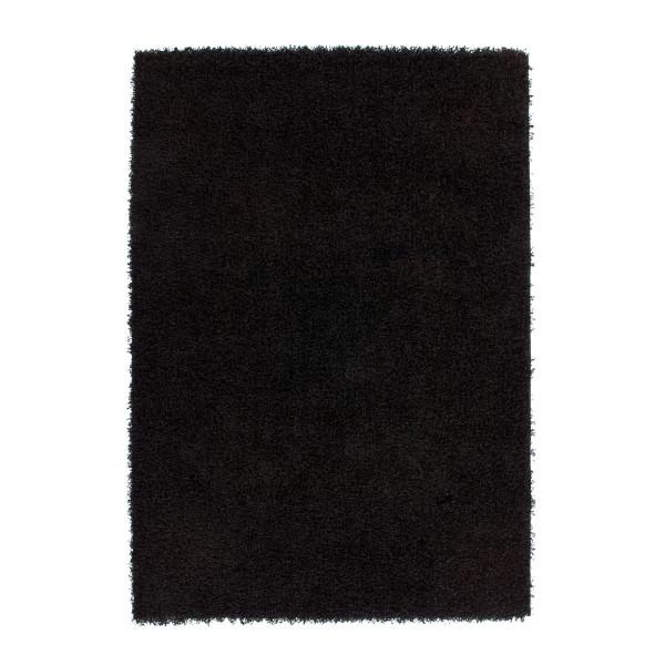 Lalee koberce Kusový koberec Relax REL 150 black, 60x110 cm% Černá - Vrácení do 1 roku ZDARMA vč. dopravy