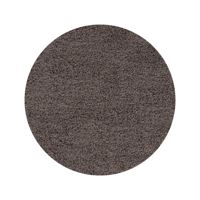 Kusový koberec Life Shaggy 1500 taupe kruh