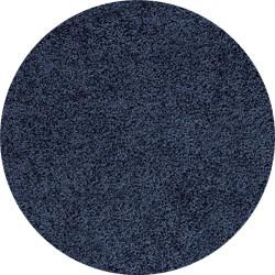 Kusový koberec Life Shaggy 1500 navy kruh