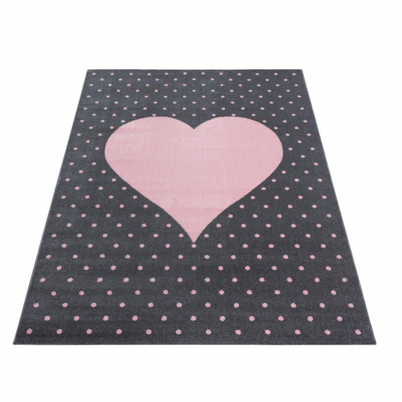 Dětský kusový koberec Bambi 830 pink