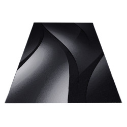 Kusový koberec Plus 8010 black