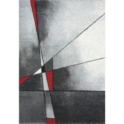 Kusový koberec Brilliance 21807 grey-red