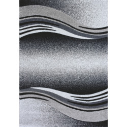 Šedý kusový koberec Enigma grey 9358