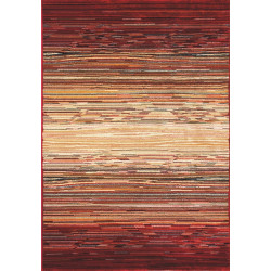 Kusový koberec Cambridge red/beige 5668