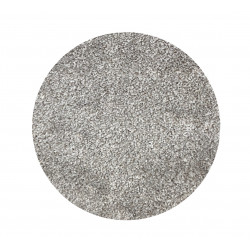 Kruhový koberec Apollo Soft šedý
