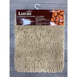 Protiskluzová koupelnová předložka Lucas béžový