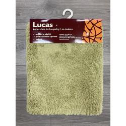 Protiskluzová koupelnová předložka Lucas zelený