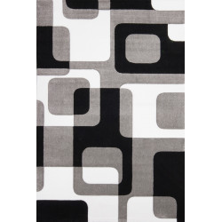 Kusový koberec Lambada LAM 463 silver-black