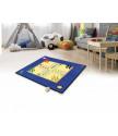 Hrací koberec Člověče nezlob se + figurky a kostka