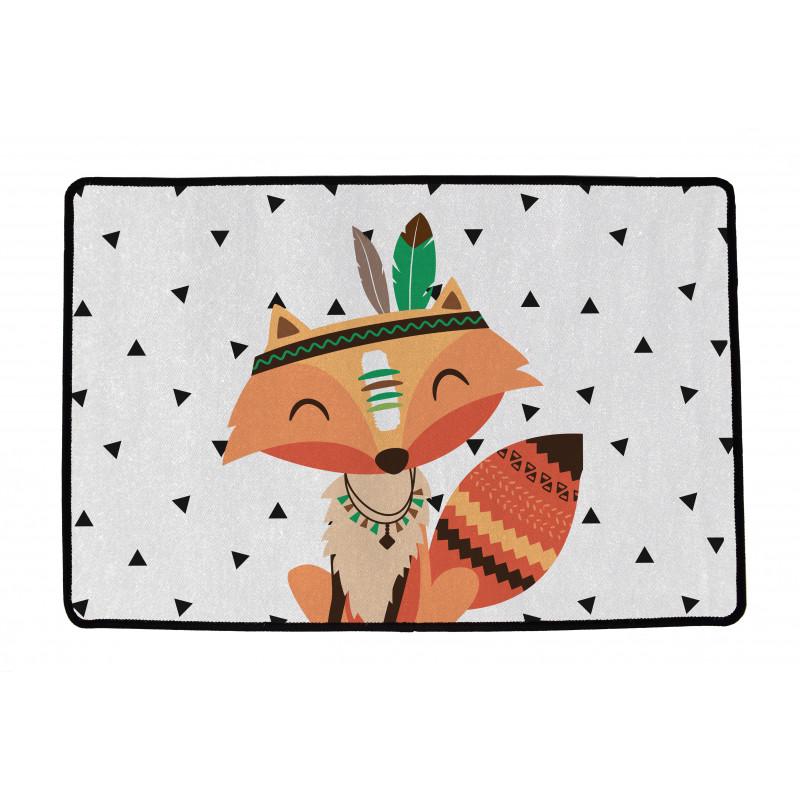 Textilní rohož Indian Fox