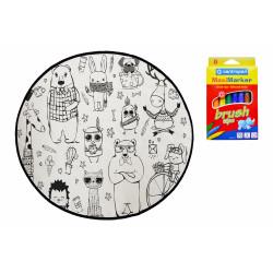 Dětský kusový koberec Happy Friends