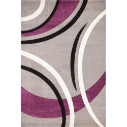 Kusový koberec Havanna Carving HAV 409 silver
