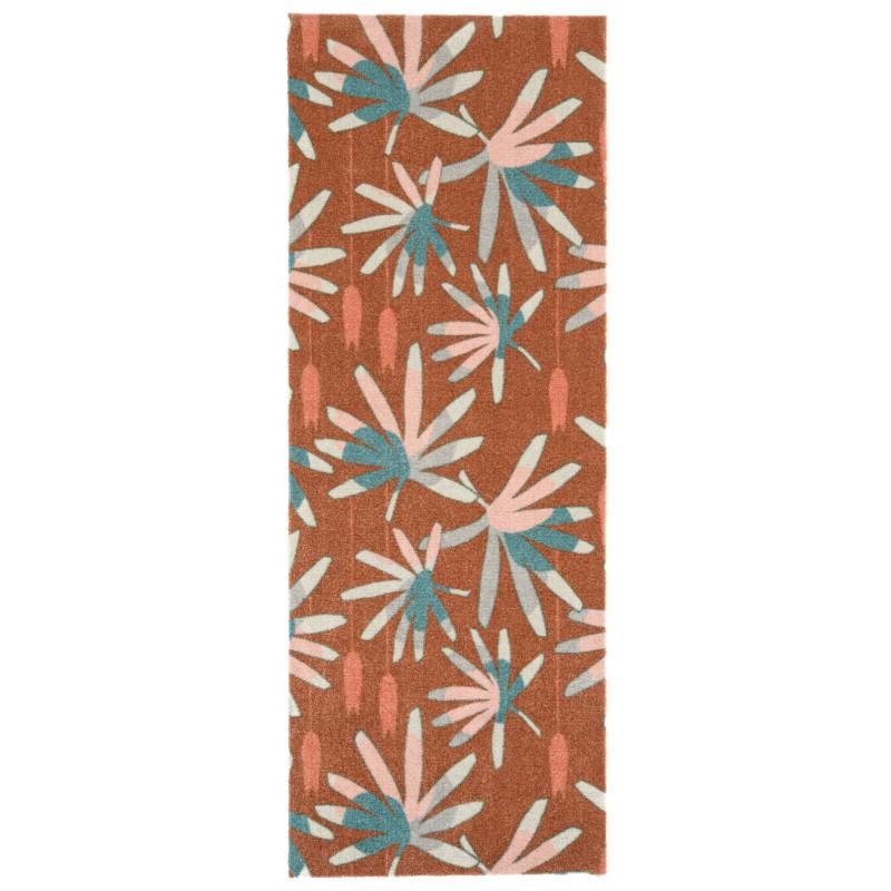 Protiskluzový běhoun Viva 104036 Brown/Green z kolekce Elle