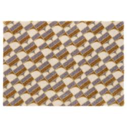 Protiskluzová rohožka Viva 104034 Cream/Grey/Gold z kolekce Elle
