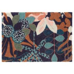 Protiskluzová rohožka Viva 104028 Blue/Green z kolekce Elle