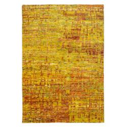 Ručně tkaný kusový koberec SAREE DE LUX 820 GOLD