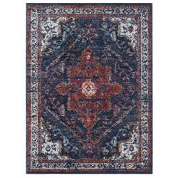 Kusový koberec Lugar 104091 Midnight Blue