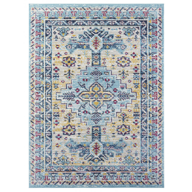 Kusový koberec Lugar 104089 Sky Blue