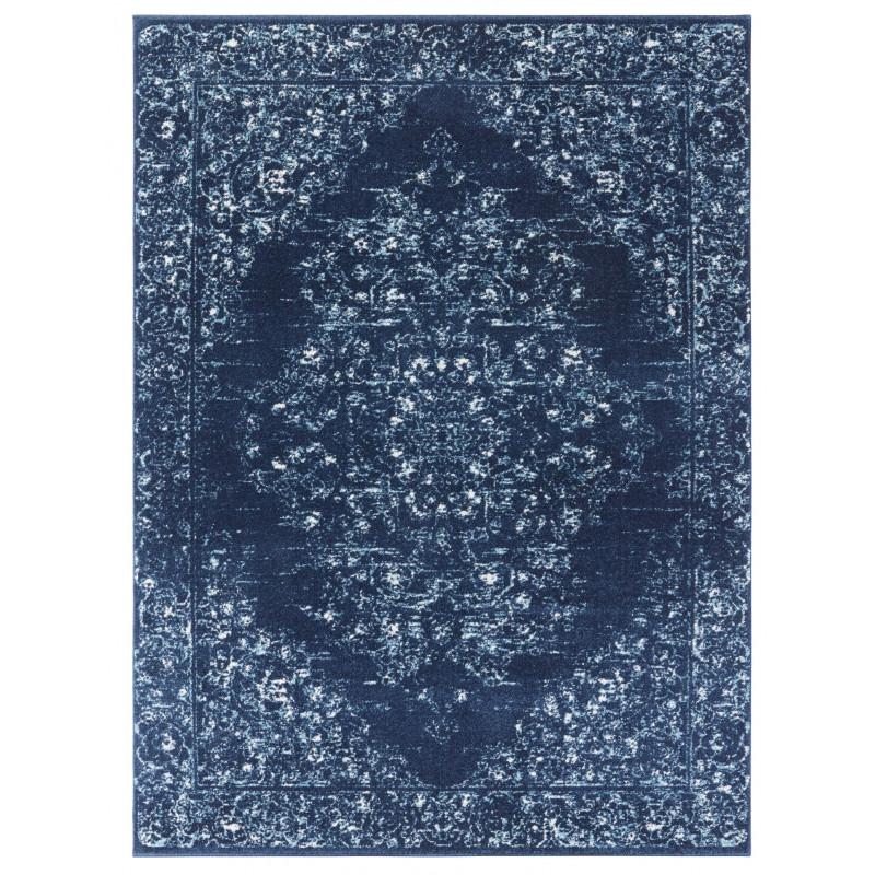 Kusový koberec Lugar 104086 Midnight Blue