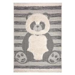 Dětský kusový koberec Vini 104168 Creme/Grey
