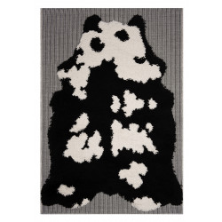 Kusový koberec Vini 104169 Black/Creme/Grey