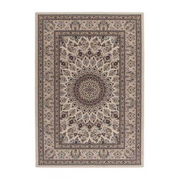 Lalee koberce Kusový koberec Mashad MAS 130 cream, 200x290 cm% Béžová - Vrácení do 1 roku ZDARMA vč. dopravy