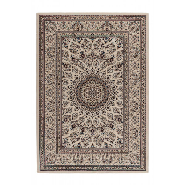 Lalee koberce Kusový koberec Mashad MAS 130 cream, koberců 200x290 cm Béžová - Vrácení do 1 roku ZDARMA