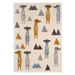 Dětský kusový koberec Vini 104170 Creme/Multicolor