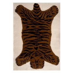 Kusový koberec Vini 104173 Brown/Black/Creme
