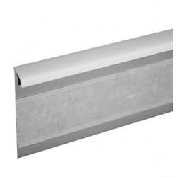 Kobercová (soklová) lišta TL55 117 bílá 250 cm