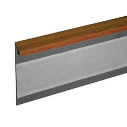 Kobercová (soklová) lišta TL55 57 buk 250 cm