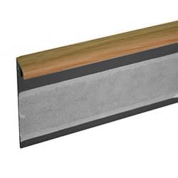 Kobercová (soklová) lišta TL55 33 dub světlý 250 cm