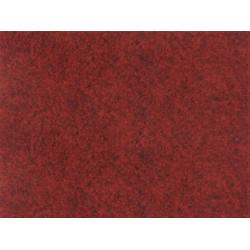 Metrážový koberec Santana 40 červená s podkladem resine