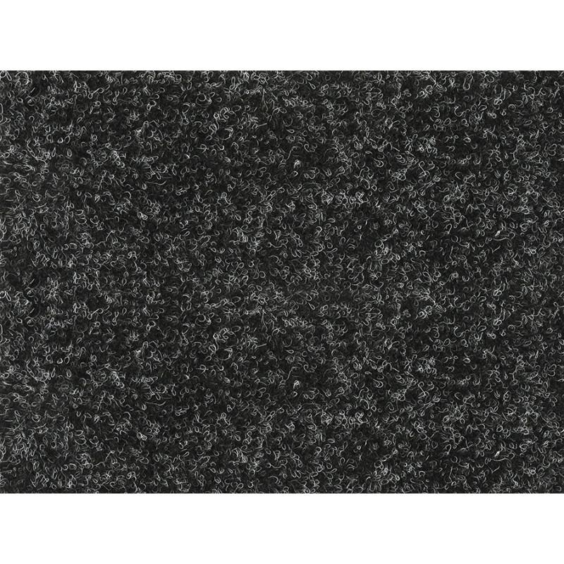 Metrážový koberec Santana 50 černá s podkladem resine